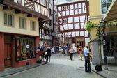Toerisen place Bernkastel Kues — Stock Photo