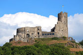 Castle and fortresses along the Mosel revier — Stock Photo