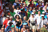 An annually recurring large walking event, — Stock Photo