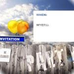 Invitation Picture 004 — Stock Photo #25786663