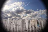 Picket Fence 001 — Stock Photo