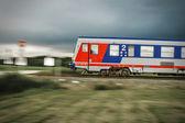 Vlak v pohybu 003 — Stock fotografie