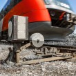 Train in motion 002 — Stockfoto