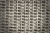 Rattan wicker texture or pattern (gray) — Stock Photo
