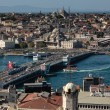 Stock Photo: Istanbul - GalatBridge