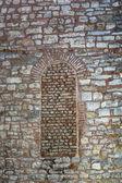 Window in the old wall - Hagia Sophia — Stock Photo