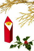 Christmas figurine II — Stock Photo