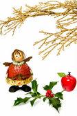 Christmas figurine I — Stock Photo