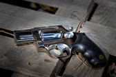 Revolver atılır — Stok fotoğraf