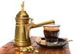 Turkish coffe — Stock Photo
