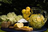 Elderflower drink — Stock Photo