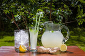 Ginger drink — Stock Photo