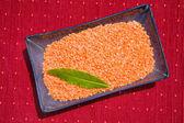 Lentilhas vermelhas — Fotografia Stock