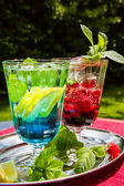 Summer drinks — Stock Photo