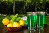 Mint lemonade — Stock Photo
