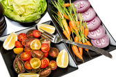 Vegetables - 5 a day — Stock Photo