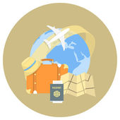 Traveling Concept — Stock Vector