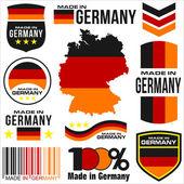 Made in Germany — Stockvektor