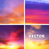 Abstract blurred vector background — Stock Vector