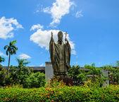 John paul ii papa heykeli, tayland — Stok fotoğraf