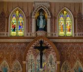 View of Interior Church — Stock Photo