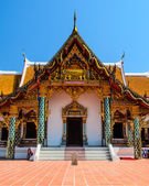 Arte de la pintura tradicional templo thai style — Foto de Stock