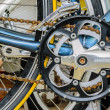 Derailleur with Sprockets — Stock Photo