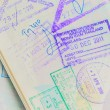 Detail of Thai Passport — Stock Photo