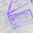 Stock Photo: Thai Passport Permit