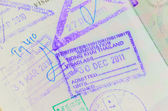 Thai Passport Permit — Stock Photo
