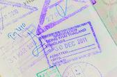 Thai Passport Permit — Stock Photo