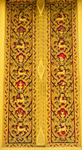 Thai Temple Door — Stock Photo