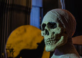 Kull of Halloween — Stock fotografie