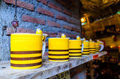 Yellow Ceramics Cup — Stock Photo