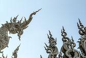 Wat Rong Khun, Chiang Rai Province, Thailand — Stock Photo