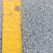 Yellow Line on Ole Street — Stock Photo