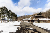 Snowy Hills in Japan on Morning — Stock fotografie