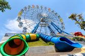 THAILAND CHA-AM PETCHBURI PROVINCE MACH 30, 2014 : Ferris Wheel  — Stock Photo
