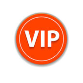 Web design Elements VIP button.Vector — Stock Vector