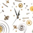 Clock parts — Stock Photo #27635059