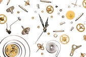Clock parts — Stock Photo
