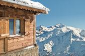 Montain cottage — Stockfoto