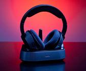 Wireless headphones — Stock Photo