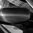 Carbon fibre mirror — Stock Photo