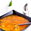 Romanian borsch — Stock Photo
