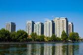 Apartment buildings — Stock Photo
