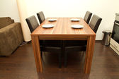 Dining table — Stockfoto