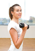 At the gym — Stock Photo