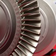Stock Photo: Turbofan
