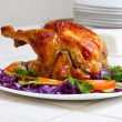 Stock Photo: Baked chicken